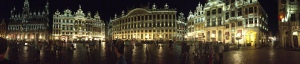Grand Palace Panorama Brussels, Belgium