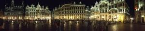 Grand Palace Panorama Brussels, Belgium