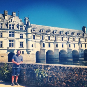 Me outside Chateau Chenonceau CHenonceau, France