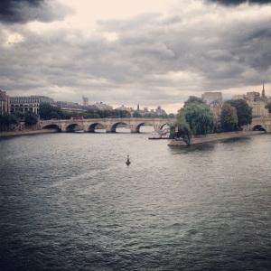La Seine River Paris, France