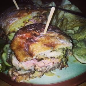 The Green Well Cuban Sandwich